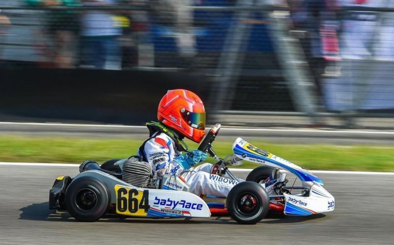 Aditya Wibowo dipuji bos Baby Race Italia dan siap diorbitkan ke seri kejuaraan gokart dunia