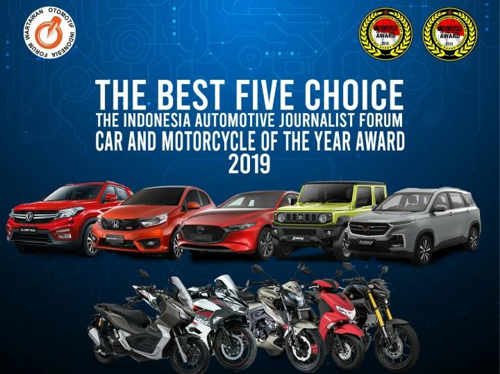 Lima nominator sepeda motor dan mobil hasil pilihan wartawan peliput otomotif FORWOT
