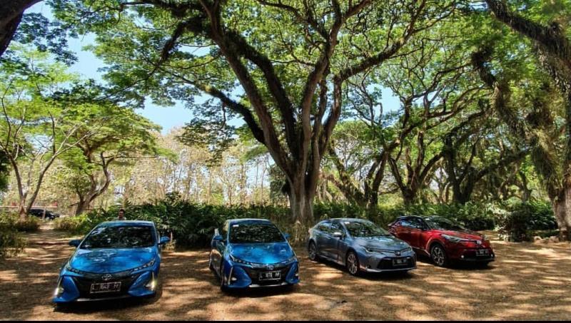 PT Toyota Astra Motor menggelar test drive HEV dan PHEV