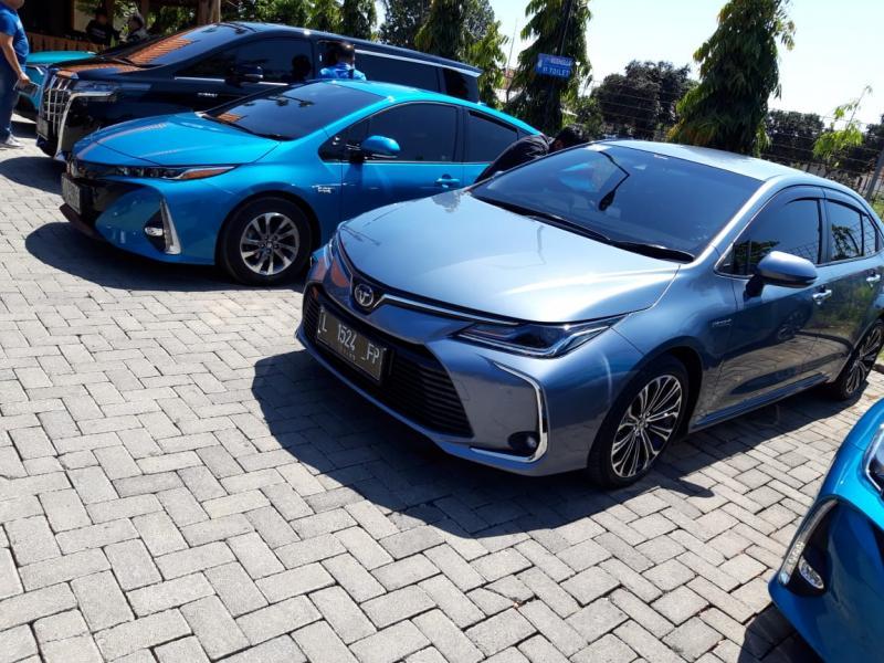 PT Toyota Astra Motor menggelar test drive HEV dan PHEV dengan rute Banyuwangi-Bali