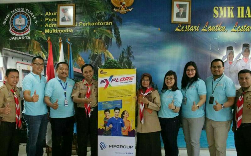 Perwakilan FIFGROUP dan SMK Hang Tuah 1 Sunter Jakut, siapkan SDM yang unggul