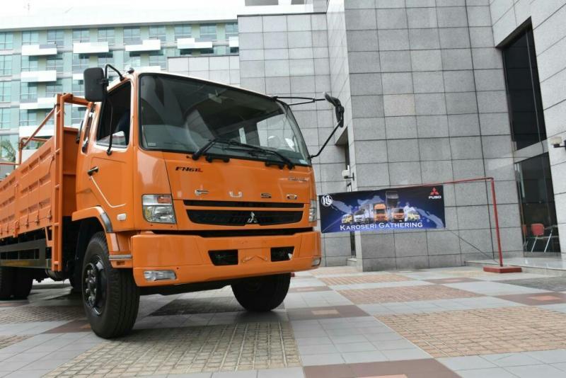 Mitsubishi Fuso sosialisasikan wacana zero ODOL