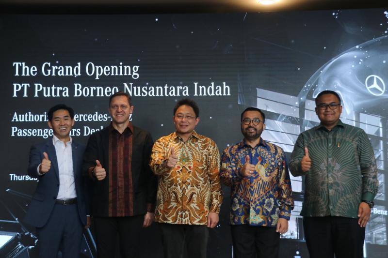Nusantara Authorized Mercedes-Benz Passenger Cars Dealer ini merupakan fasilitas dealer resmi Mercedes-Benz ke-10 di area Jabodetabek. (dok. MBDI).