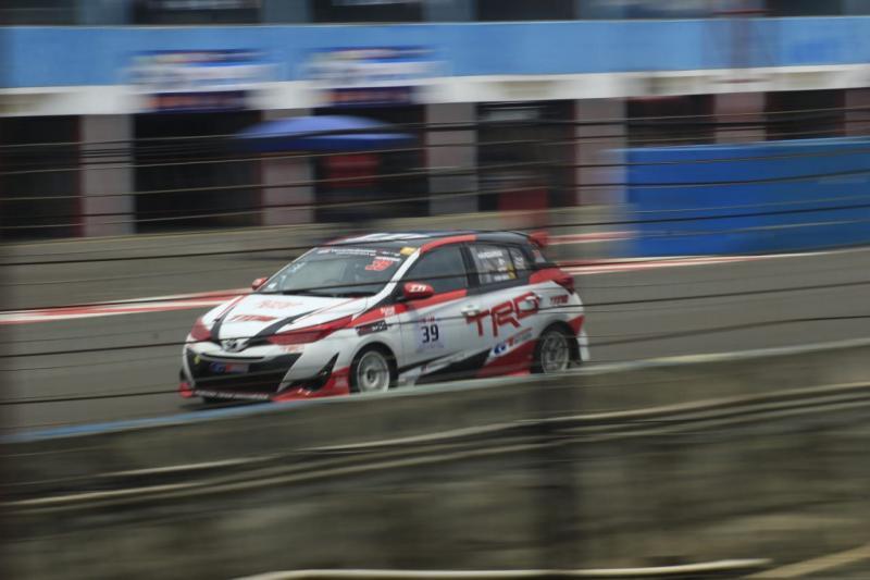 Haridarma Manoppo (TTI) harus puas finish di posisi kedua ITCR Max 2019 round 5 di Sirkuit Sentul, Bogor