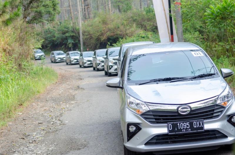Model baru Daihatsu dites pada kondisi sebenarnya, sampai 100.000 kilometer, equal warranty period. (anto)