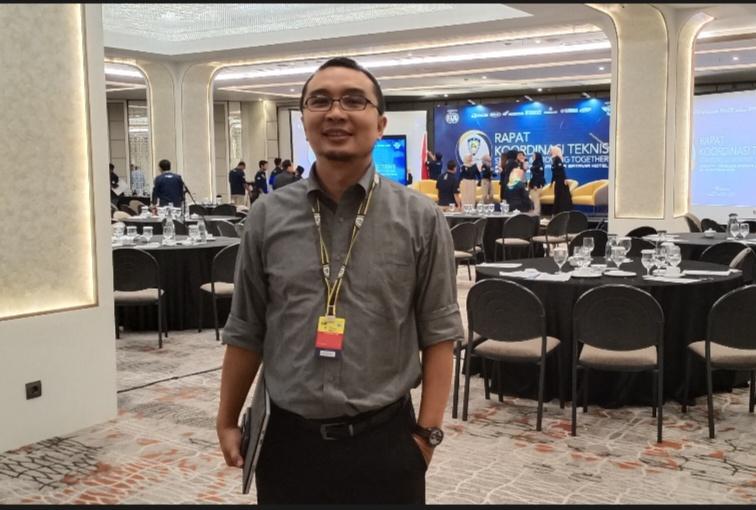Sadikin Aksa sampaikan 2 round MXGP Indonesia 2020 di Jakarta dan Palembang. (foto : bs)
