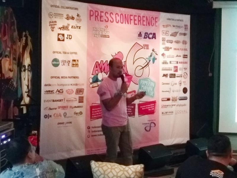 Feldani, Tahun keenam penyelengaraan IDE merupakan salah satu pembuktian bahwa dunia diecast di Indonesia tidak dapat dianggap remeh. (anto)