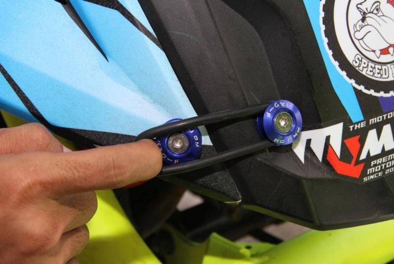 Emejing! Modal Quick Release Body Part, Tampilan Motor Makin Keren Ala Mobil Balap