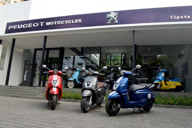 Peugeot Motocycles Indonesia hadirkan dua model anyar yakni Django Classic dan Django SS