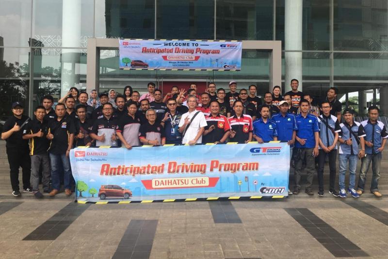 Sebanyak lebih dari 60 member beserta keluarga dari 17 klub mobil Daihatsu hadir dari wilayah Tangerang, Pamulang, Banten, dan sekitarnya. (anto)
