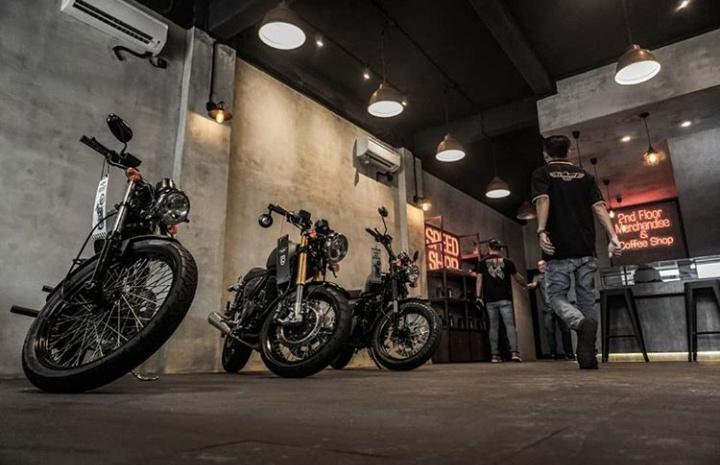Showroom Cleveland Cyclewerks Bekasi punya lokasi strategis di area Pekayon, Bekasi yang beralamat di Jl. Raya Pondok Gede 2 Jakasetia – Bekasi.(dok. CCW id)