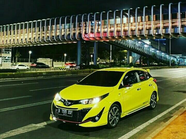 Toyota New Yaris tipe TRD Sportivo varian paling tinggi dan paling diminati. (foto : hilary)