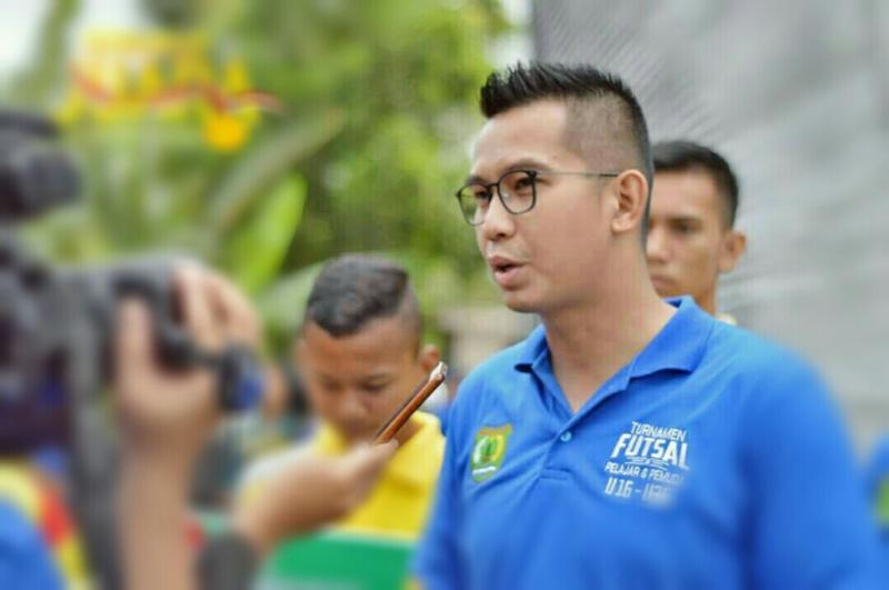 Kadispopar Kabupaten Musi Banyuasin, Muhammad Fariz, koordinasikan 2 event balap international sebaik-baiknya.  (foto : ist)