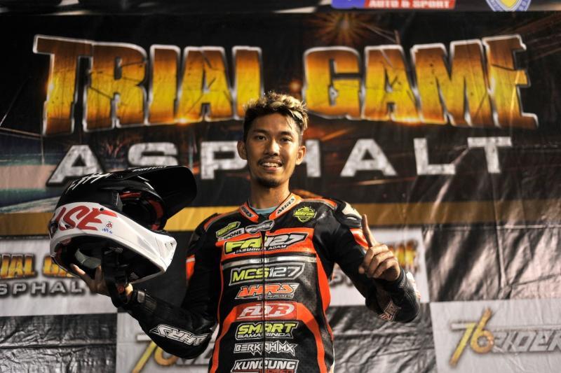 Farudila Adam tampil ciamik di seri 4 Trial Game Asphalt Malang