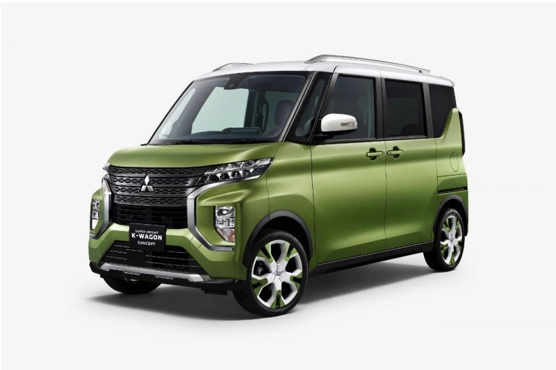 Salah satu mobil konsep yang diluncurkan Mitsubishi Motors, Super Height K-Wagon Concept Kei-car.(dok. MMKSI)