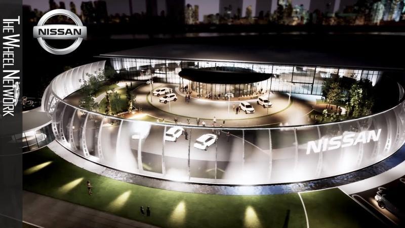 Nissan menampilkan visi untuk mobilitas melalui pembukaan venue baru di tahun 2020