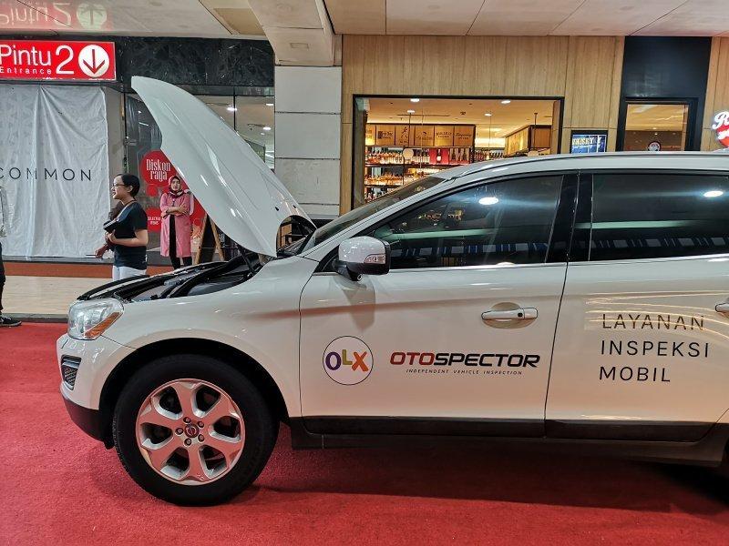 OLX punya layanan inspeksi kendaraan untuk konsumen yang ingin membeli mobil di OLX (ist)