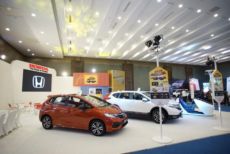 Honda menampilkan lima unit display dia ajang tahunan ini. (dok. HPM)