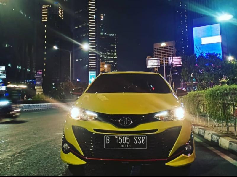 Toyota New Yaris tipe TRD Sportivo menjadi mobil idaman kalangan muda. (Foto : bs)