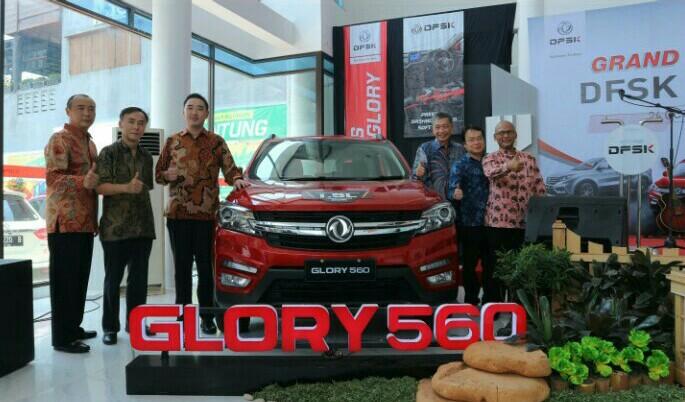 Peresmian dealer DFSK di Kediri dihadiri bos PT Sokonindo Automobile, Franz Wang