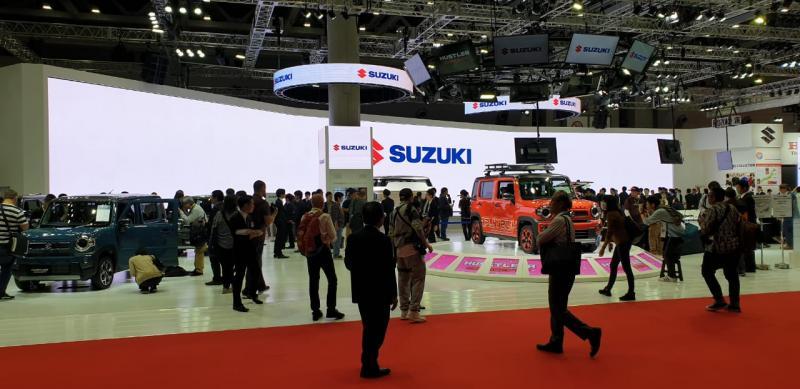 Sebagai merek otomotif terkemuka, Suzuki menampilkan teknologi unggulannya melalui berbagai lini kendaraan. (dok. SIS).