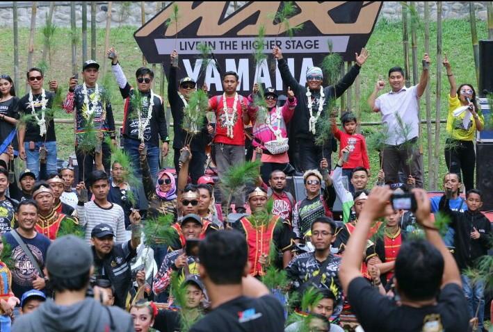 Perayaan 3 tahun Yamaha Maxi Day dipusatkan di gunung Dieng, Wonosobo