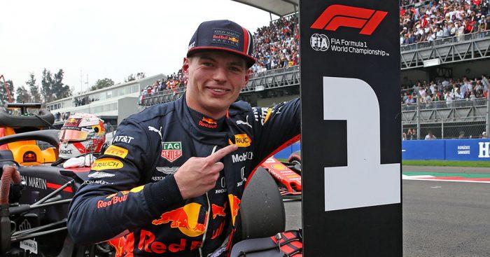 Max Verstappen (Red Bull), pole sitter di Meksiko, pole position kedua sepanjang karir F1-nya. (Foto: planetf1)