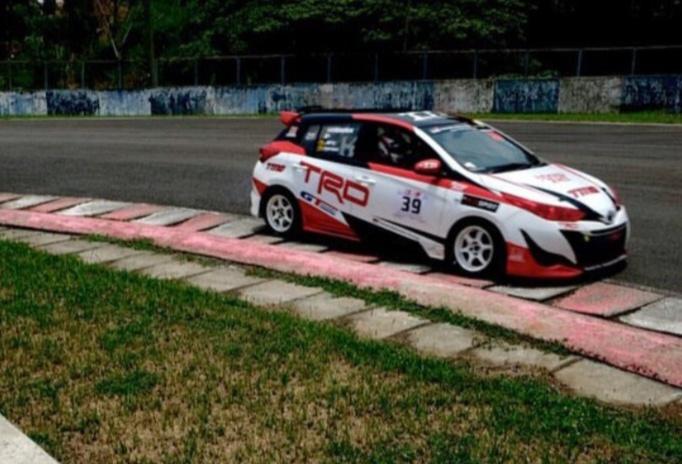 Toyota Yaris membuktikan sebagai mobil kencang dengan mengantar Haridarma Manoppo dua kali juara nasional. (Foto : toyotatti)
