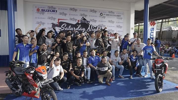 Rangkaian Suzuki Saturday Night Ride 2019 ditutup di Manado