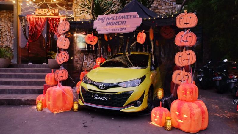 New Toyota Yaris dalam balutan Halloween