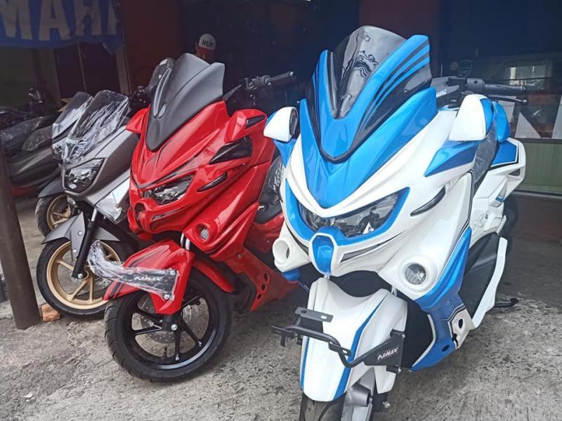 Up Grade Tampang Yamaha NMAX Ala Predator