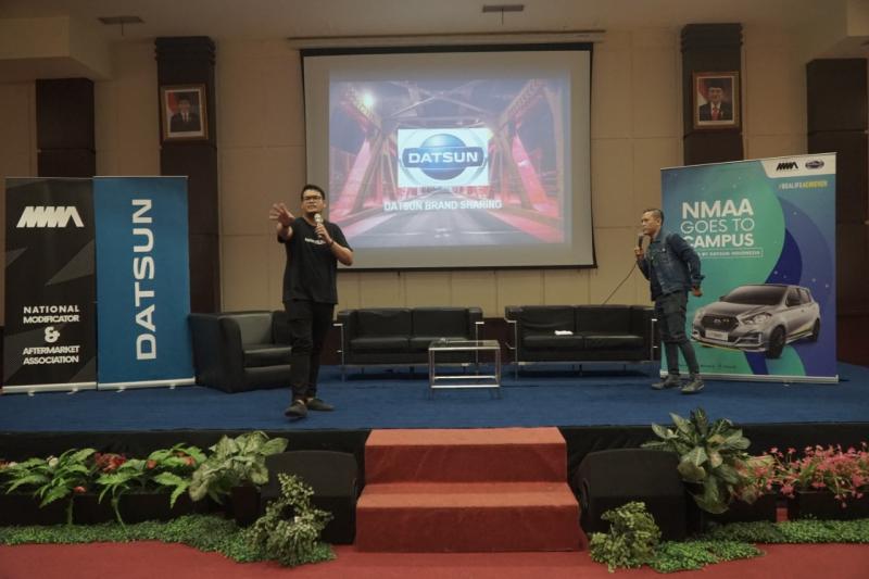 NMAA Goes to Campus merupakan agenda tahunan yang kali ini menjelma sebagai penerus rangkaian kegiatan NMAA Trending Workshop. (Tim NMAA)