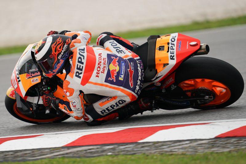 Marc Marquez (Honda), kurang fit memasuki raceday GP Malaysia hari ini. (Foto: repsolhonda)