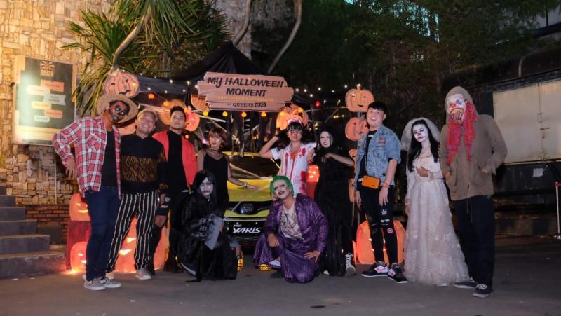 TYCI menggelar kegiatan seru bareng Yaris bertema Halloween