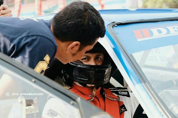 Umar Basalamah, pembalap pertama JSTC yang pastikan juara 2100NA dan lolos ke Sepang Malaysia