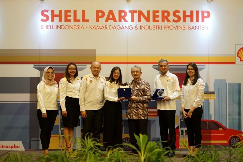 PT Shell Indonesia bekerja sama dengan Kamar Dagang dan Industri (Kadin) Provinsi Banten