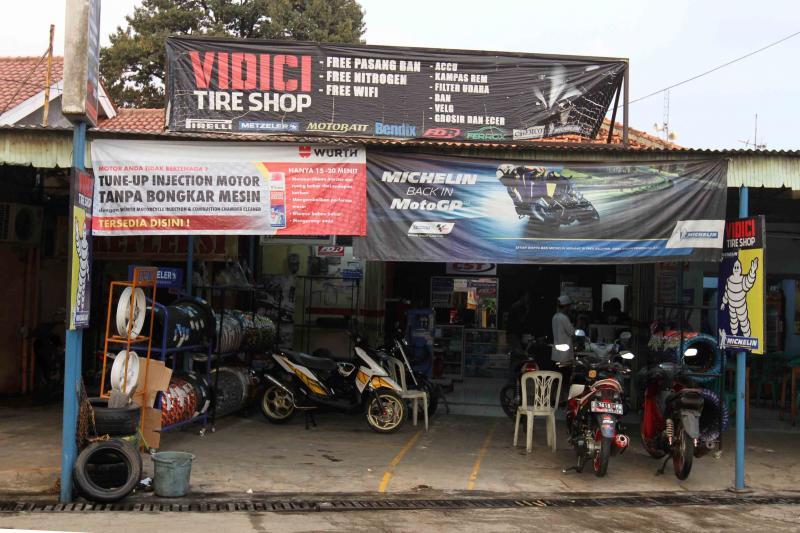 Vidici Tire Shop, Satu-Satunya Pusat Ban Premium Di Depok