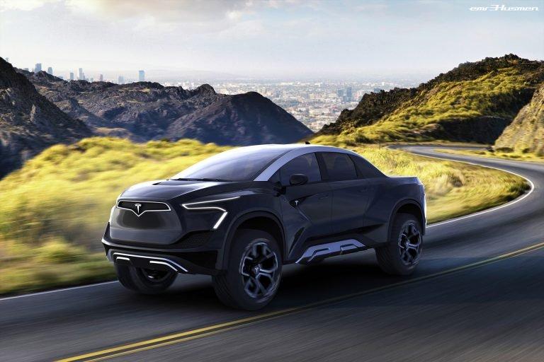 Cybertruck, pickup listrik lansiran Tesla bakal dirilis akhir November 2019 di Los Angeles (foto: carscoops)