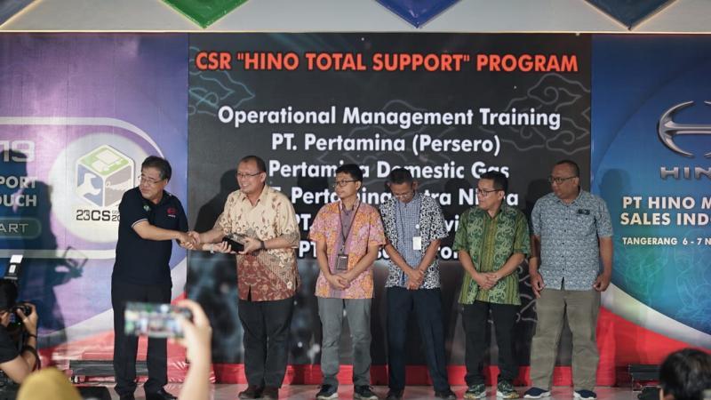 Bantuan program CSR berupa pendidikan dan pelatihan bagi para manajer operasi dari Pertamina Group melalui salah satu program training yaitu Operation Management. (anto)