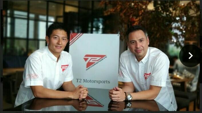 Rio Haryanto (kiri) dan David Tjipto, optimis bisa berjaya di Asian Le Mans Series