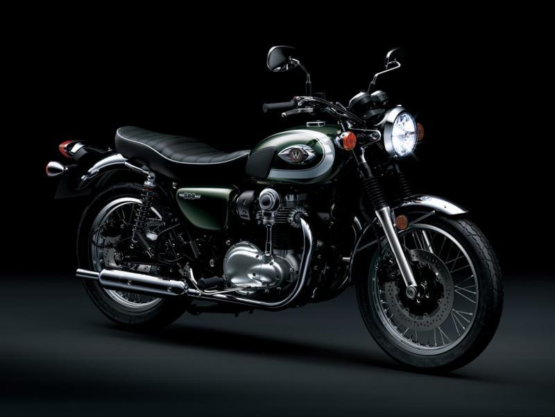 Kawasaki W800 tawarkan karakter original big bike Jepang
