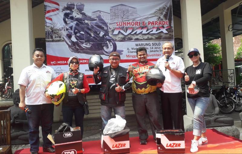Thanks To Lazer Helmet Telah Support NMax Riders Gathering