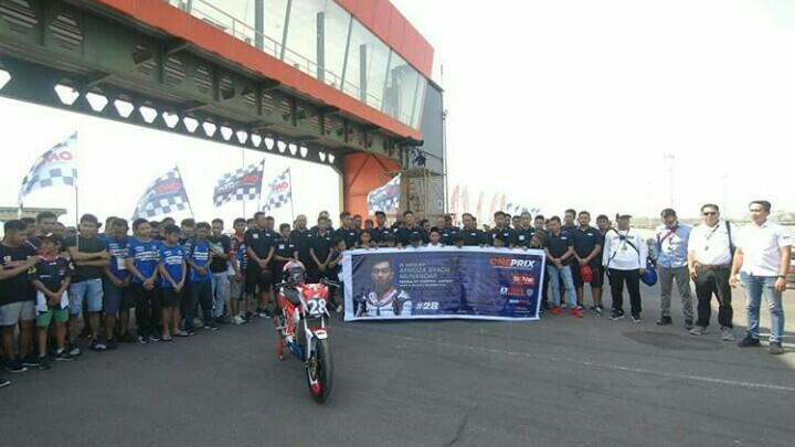 Tribute to Afridza Sebelum QTT Oneprix Championship Surabaya