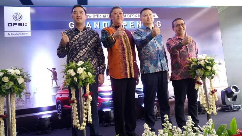 PT AIU sebagai mitra DFSK meresmikan 11 outlet baru DFSK yang tersebar di berbagai daerah Indonesia