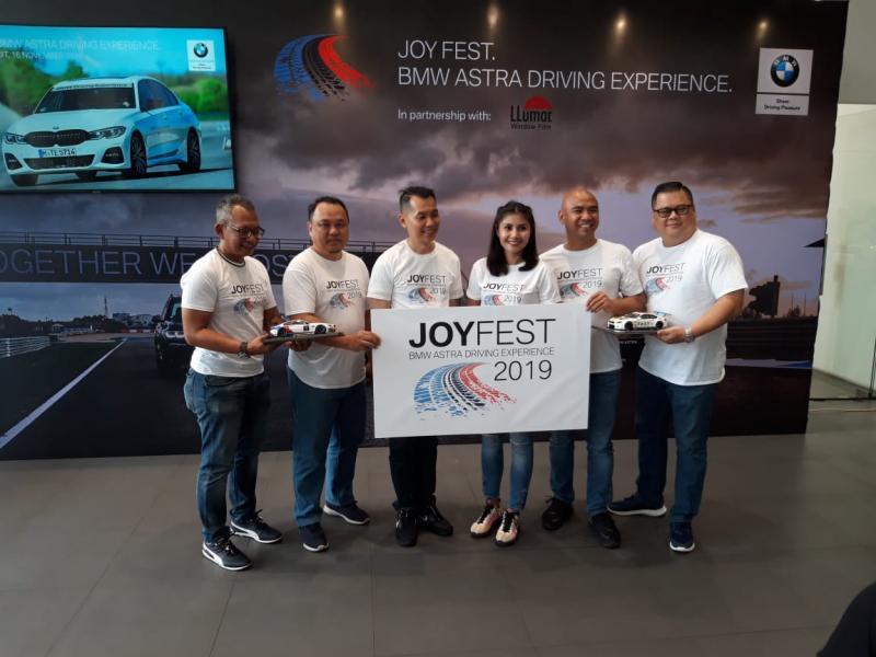 BMW Astra siap menggelar event perdana bertajuk Joy Fest: Driving Experience untuk memberikan pengalaman baru kepada pelanggan