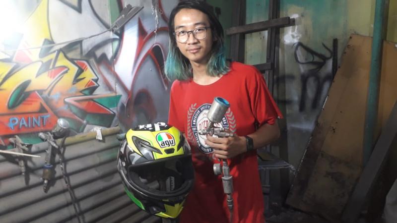 Sickpaint Custom, Satu-Satunya Spesialis Airbrush Helm Di Depok