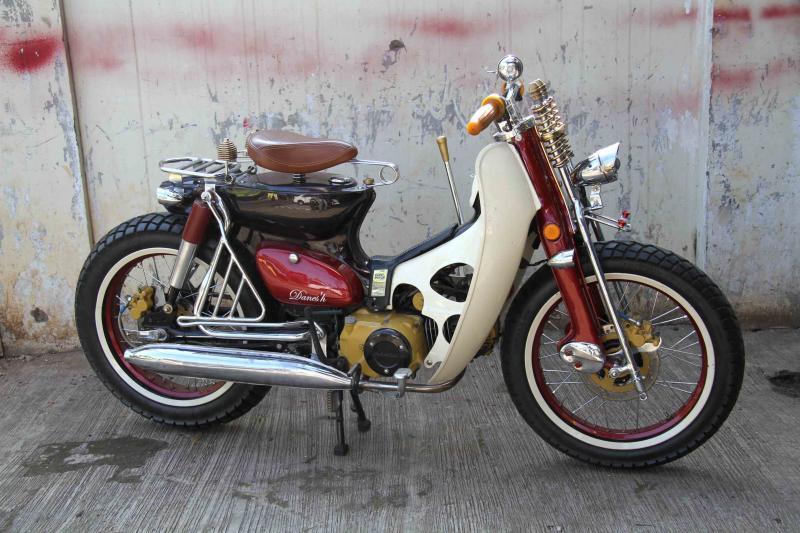 Modifikasi Honda Legenda 2002; Dijual Sayang Street Cub Jadi Mainan Baru