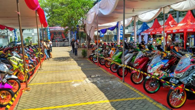 Peringati 1st Anniversary, NMAX Custom Club Gelontorkan Puluhan Juta Untuk Pemenang Kontes Modifikasi