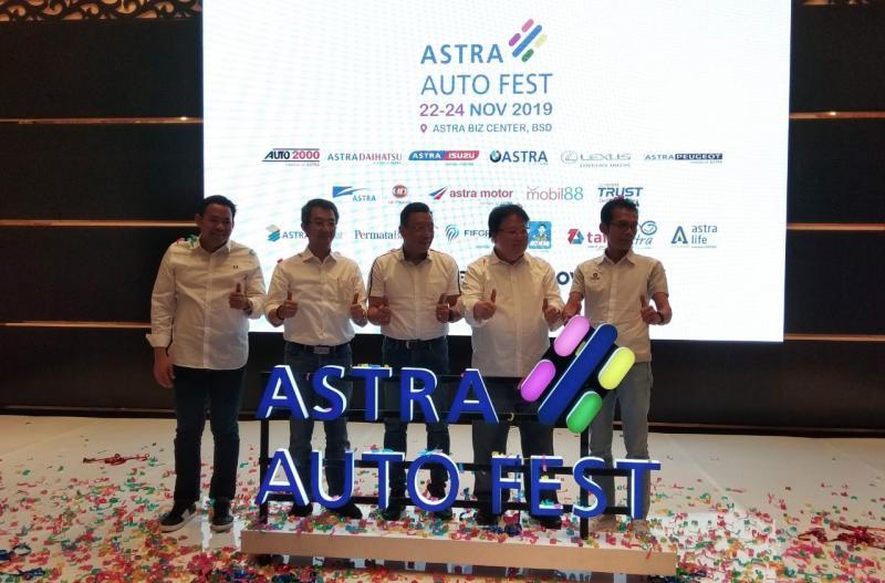 Acara ini menghadirkan seluruh brand otomotif yang berada di bawah naungan Astra.(anto)