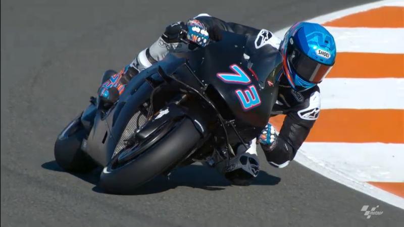 Ini penampakan perdana Alex Marquez setelah didapuk jadi pendamping Marc Marquez di Repsol Honda. (Foto: motogp.com)